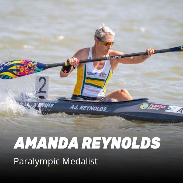 Amanda Reynolds paralympic medalist recommends recover8 supplement after training