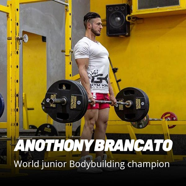 Anothony world junior body building champion recommends recover8 supplement after workout